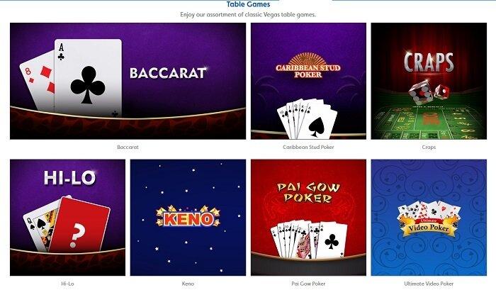 Jackpotjoy Table Games